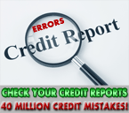 Remove Credit Report Errrors