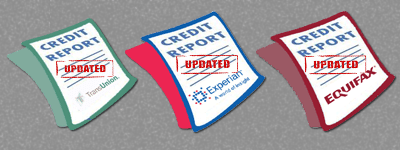 updated credit reports